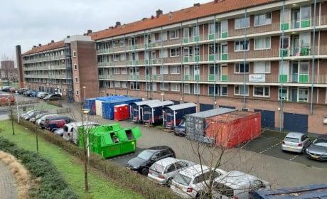 Renovatie van 99 woningen te Amersfoort